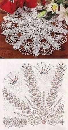 Free Crochet Patterns Darmowe Wzory Free Crochet Patterns Darmowe Wzory Knitting ProjectsCrochet For BeginnersCrochet PatternsCrochet Baby Crochet Doily Diagram, Crochet Doily Patterns, Thread Crochet, Filet Crochet, Crochet Motif, Irish Crochet, Crochet Designs, Crochet Lace, Crochet Stitches