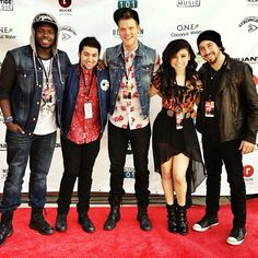 Pentatonix at SXSW in Austin. Photo by ptxofficial