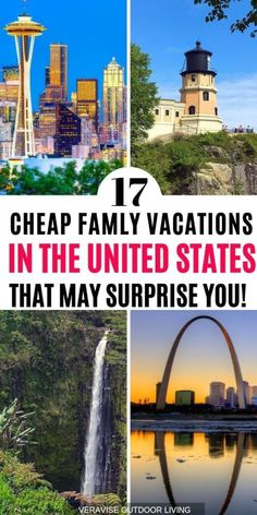 These Cheap Family Vacation Destinations in the US May Surprise You! , These Cheap Family Vacation Destinations in the US May Surprise You! If you are looking for cheap family vacation destinations in the United States, t. Us Travel Destinations, Best Family Vacation Destinations, Affordable Family Vacations, Vacations In The Us, Family Vacation Spots, Family Travel, Midwest Vacations, Vacation Shirts, Vacation Ideas For Families