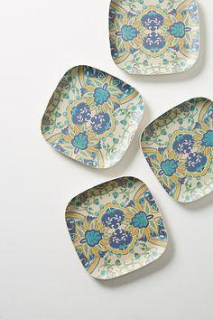 Bamboo Dinner Plate Set & Bamboo Side Plate Set   September Decor   Pinterest   Side plates ...
