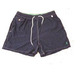 #POLO Ralph Lauren Men swimwear size XL navy blue swim surf shorts swimming RalphLauren visit our ebay store at  http://stores.ebay.com/esquirestore