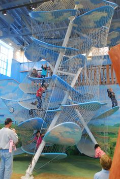 Children's Museum of South Dakota - Luckey Climber