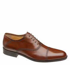 NEWELL CAP TOE - Johnston & Murphy $185 Trig & Polished Approved // Promoting Good Men's Style // www.trigandpolished.com
