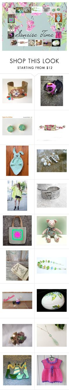 """""""Sunrise Time: Handmade & Vintage Gift Ideas"""" by paulinemcewen ❤ liked on Polyvore featuring vintage and country"""