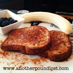 Healthy French Toast - 5 PointsPlus per serving!