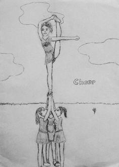 Bow and Arrow Cheer Stunt by Eyedowno.deviantart.com on @deviantART: