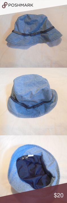 f278fff952f August Vtg 90s Denim Bucket Hat Fisherman Cap Classic 90s August denim bucket  hat. 100