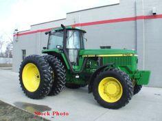 1992 John Deere 4760 Tractor http://www.heavyequipmentregistry.com/heavy-equipment/12392.htm