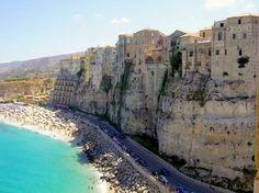 Cliffside Beach - Tropea Italy