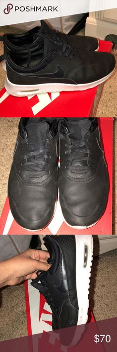 Nike air max Thea black Gently and barely used for gym Nike Shoes Sneakers