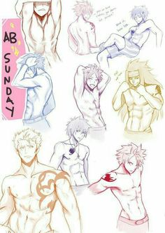 """Most of the guys from fairy tail, Can you say """"HOT"""""""