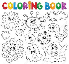 Alphabet Drawing Book Pdf Best Of Coloring Book Germs theme 1 Drawing Book Pdf, Alphabet Drawing, Coloring Pages For Boys, Free Coloring Pages, Coloring Books, Germs For Kids, Germ Crafts, Les Microbes, Worksheets For Kids