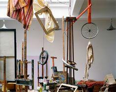 Studio: Visites des écoles d'art du monde entier par la photographe Leonora Hamill | ATELIER RUE VERTE le blog