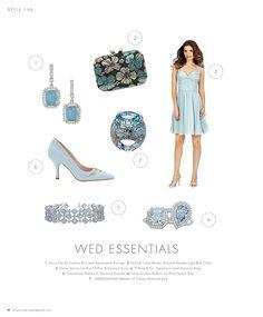 Wed Essentials - Blue #inspiration #ideas #weddingideas #weddinginspiration