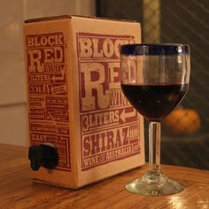 The Wine Idiot Reviews: Trader Joe's Block Red Wine, Shiraz (Boxed) $10.99