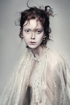 Natalie Westling by Paolo Roversi for Vogue Italia March 2016, Chanel Couture Supplement