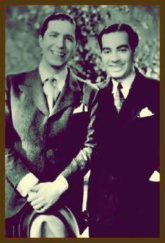 CARLOS GARDEL ( 1890 - 1935 ) Y ALFREDO LE PERA ( 1900 - 1935 ) —