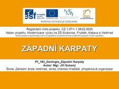 Př_163_Geologie_Západní Karpaty