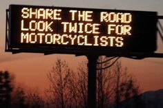 It's Motorcycle Safety Awareness Month