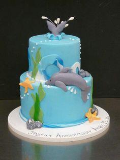 Dolphins. Found my birthday cake!! :)