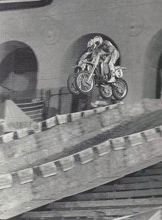 Jeff Stanton (7) and George Holland (3)1989 Superbowl of Motocross LA Coliseum