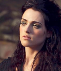 Kathie McGrath, Morgana in Merlin - putting in outfits/hair because I love the makeup