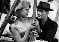"""Carroll Baker and Eli Wallach / Baby Doll / Tennessee Williams / Elia Kazan - """"The Ugly"""" is surprisingly attractive in this controversial film..."""