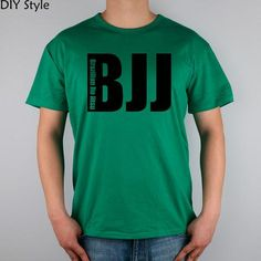 BJJ BRAZILIAN JIU JITSU MMA LOGO T-shirt Top Lycra Cotton Men T shirt New Design High Quality Digital Inkjet Printing