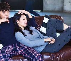 Kim Woo Bin and Shin Min Ah for GIORDANO - بحث Google