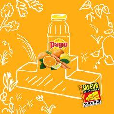 """Attention : annonce !!  Le Pago A.C.E a été récompensé saveur de l'année Restauration 2012"""". Bravo Pago A.C.E !"""