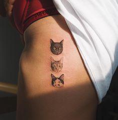 cats tattoo SOLTATTOO