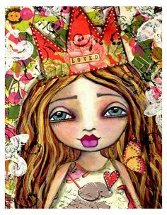 Lisa Ferrante. I love her work!