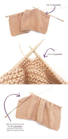 Learn How to Make this Knitted Girly Vest for a Baby. FREE Step by Step Pattern & Tutorial. Free Childrens Knitting Patterns, Baby Cardigan Knitting Pattern Free, Knitting For Kids, Sewing Patterns Free, Knit Patterns, Hand Knitting, Free Pattern, Crochet Yoke, Knit Baby Dress