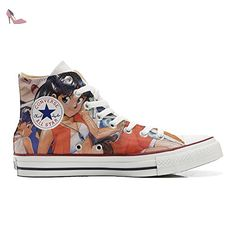 Converse Custom - personalisierte Schuhe (Handwerk Produkt) Back Groud Abstract  38 EU