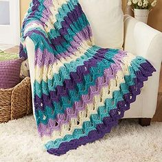 Herrschners Garden Gate Crochet Afghan Kit ** Read more reviews of the product by visiting the link on the image. (This is an affiliate link and I receive a commission for the sales)