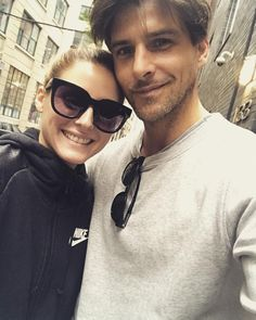 OP & JH - Sundays - October 8, 2017 Olivia Palermo, Cute Couples Goals, Couple Goals, Johannes Huebl, Stylish Couple, Best Couple, Outfit Goals, Perfect Match, New York Fashion