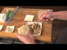 Indisch eten!: Pangsit goreng: heerlijke gefrituurde won-ton gevuld met gehakt en garnalen