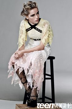 Kiernan Shipka Beauty Photo Shoot- Teen Vogue Exclusive October 2015   Teen Vogue Dark Fashion, Fashion 2020, Crinoline Dress, Styling Mousse, Kiernan Shipka, Beauty Shoot, Vogue Magazine, Seventeen Magazine, Teen Vogue