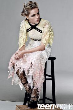 Kiernan Shipka Beauty Photo Shoot- Teen Vogue Exclusive October 2015 | Teen Vogue