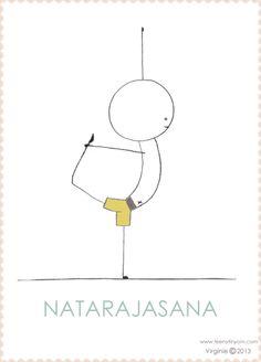 balasana  child's pose  yoga  yoga stick figures