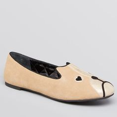 Marc by Marc Jacobs Smoking Flats Friends of Mine Shorty Dog