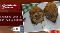 Ingredientes: Mac & Cheese ( https://www.youtube.com/watch?v=lDhfvJTerbA)  Pão para Cachorro quente  Doritos batido no liquidificador  Salsichas