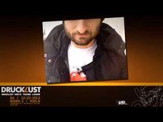 """Videoflyer für die Veranstaltung """"Drucklust & Techno League pres. Dandi & Ugo"""", welche am 10.03.2012 im Bogen 2 in Köln stattfand."""