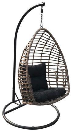 extravaganter h ngesessel f r den garten kuscheliger eye catcher gartenm bel in 2019. Black Bedroom Furniture Sets. Home Design Ideas