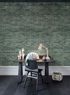 Wandbild Urban Emerald Von Rebel Walls Moderne Wandgestaltung, Wandbilder,  Retro, Städtisch, Innenarchitektur