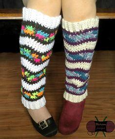 Ravelry: Kaleidoscope Waves Legwarmers pattern by Sonya Blackstone...free pattern!