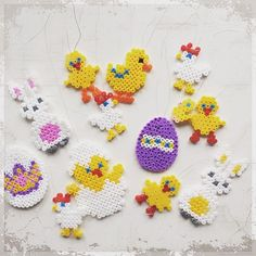Easter hama beads by lillmereteskogas