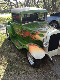 Ford : Model A Leather 1930 Ford Model A Pickup Ho - http://www.legendaryfinds.com/ford-model-a-leather-1930-ford-model-a-pickup-ho/