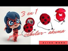 Cómo hacer Milagrosa mariquita polimérica Arcilla Tutorial (fimo) Irina Ivanitskaya - YouTube Miraculous Ladybug, Festa Lady Bag, Ladybug Tikki, Cumpleaños Lady Bug, Diy For Kids, Crafts For Kids, Pom Pom Animals, Ladybug Party, Anime Fnaf