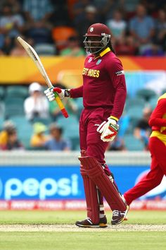 West Indies vs Zimbabwe, Match, Pool B Chris Gayle roared back into form with a spirited fifty Cricket Poster, Test Cricket, Icc Cricket, Cricket Bat, Cricket World Cup, Shahid Afridi, Cricket Wallpapers, Power Star, West Indian
